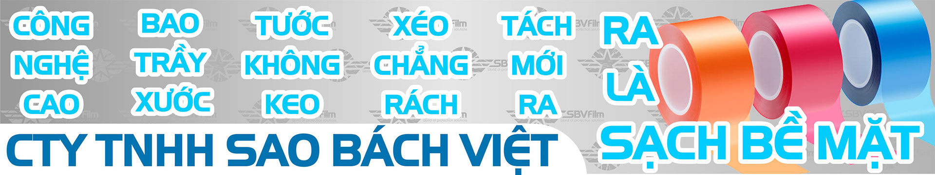 Đặc tính màng bảo vệ của Công ty TNHH Sao Bách Việt