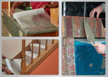 màng pe bảo vệ bề mặt thảm
