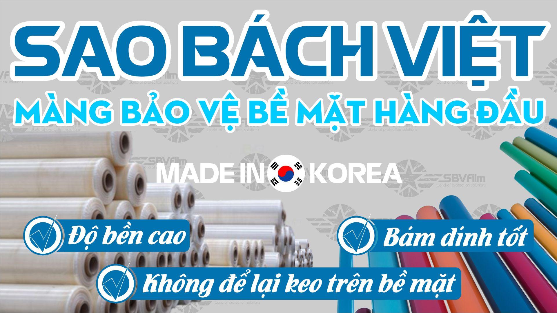 Công ty TNHH Sao Bách Việt - Màng bảo vệ bề mặt