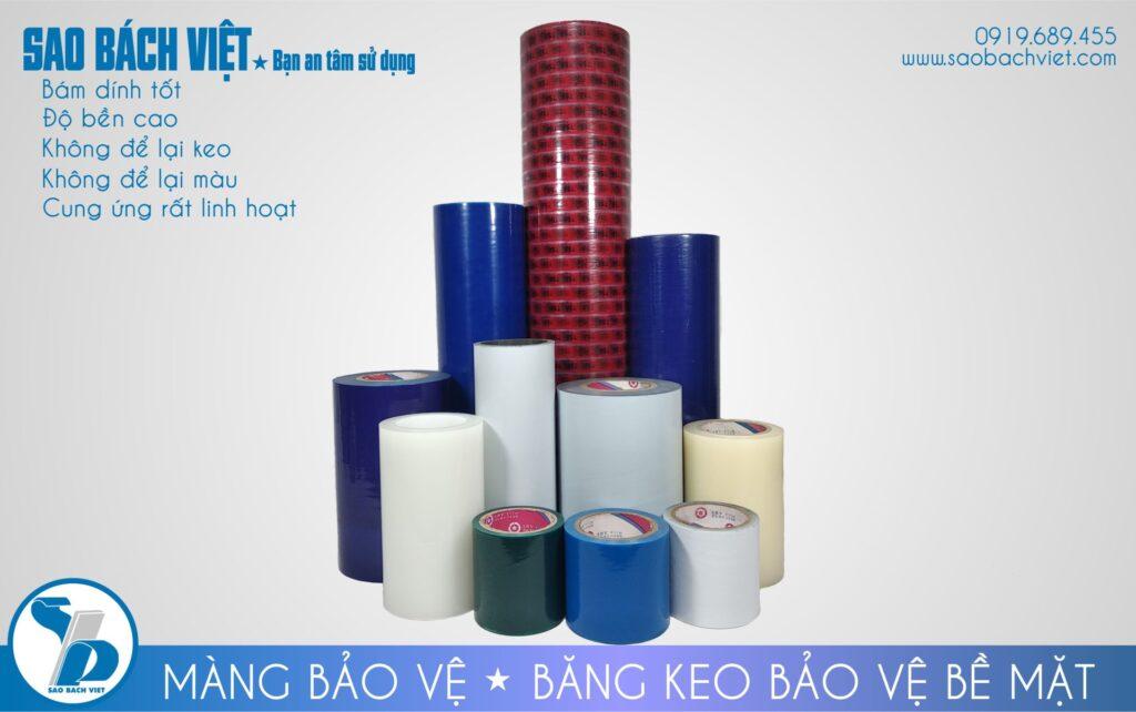 màng pe bảo vệ bề mặt sản phẩm